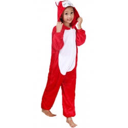 Kigurumi Chat Rouge Enfant